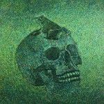 Jan Fabre - Skull with Frog - 2011