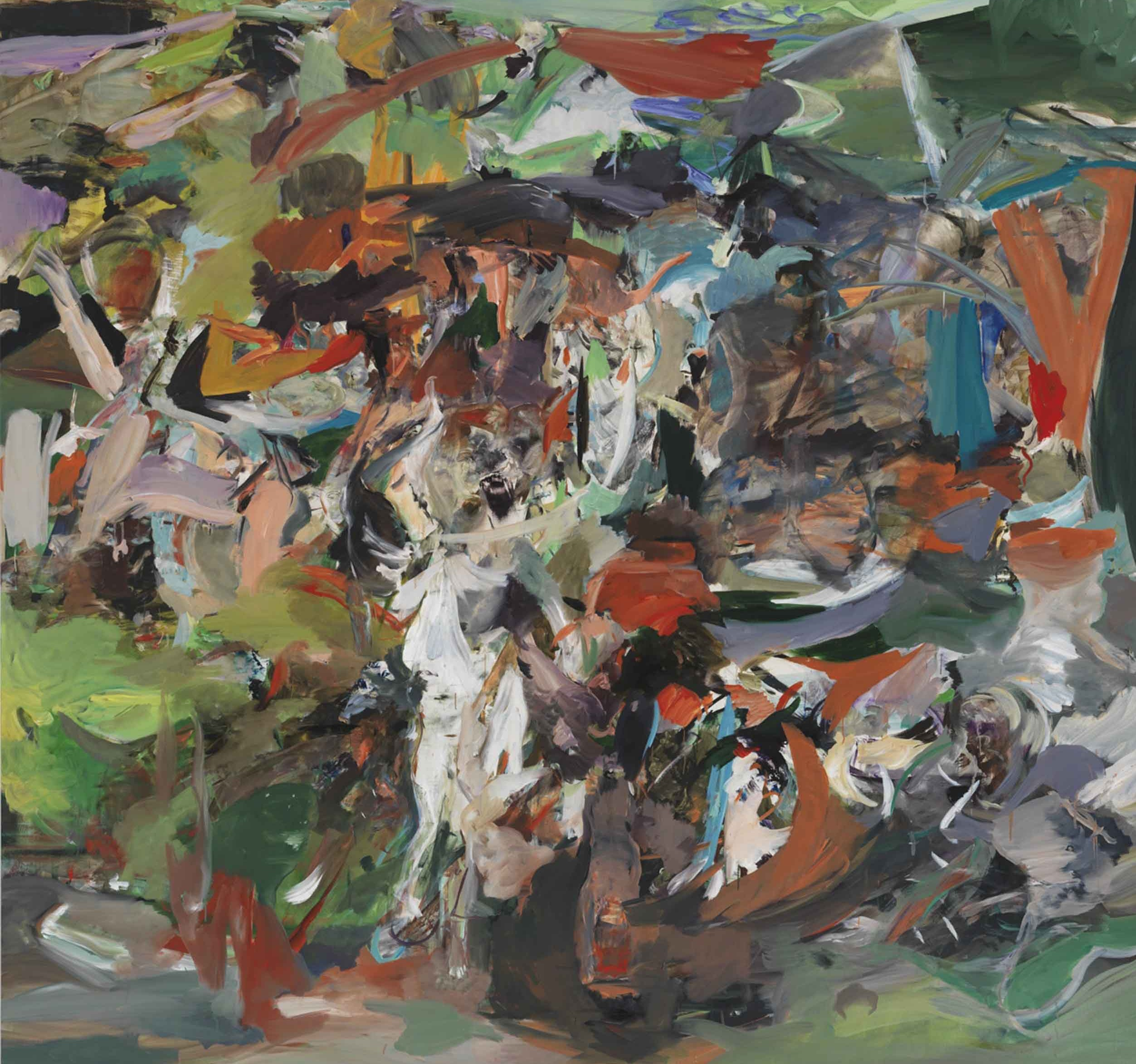 Cecily Brown - The Haunter - courtesy Gagosian Gallery - photo Robert McKeever