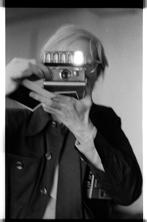 Anton Perich - Andy with Polaroid - 1969