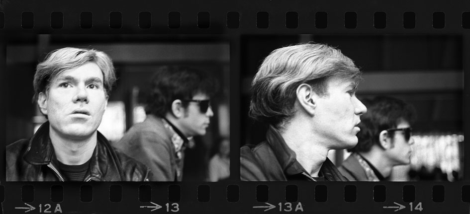 Ronn Spencer - Andy Warhol and Lou Reed - Providence, 1967