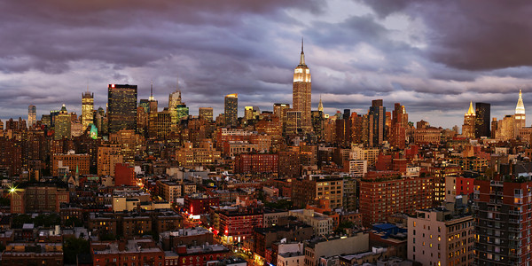 New York vista da Chelsea