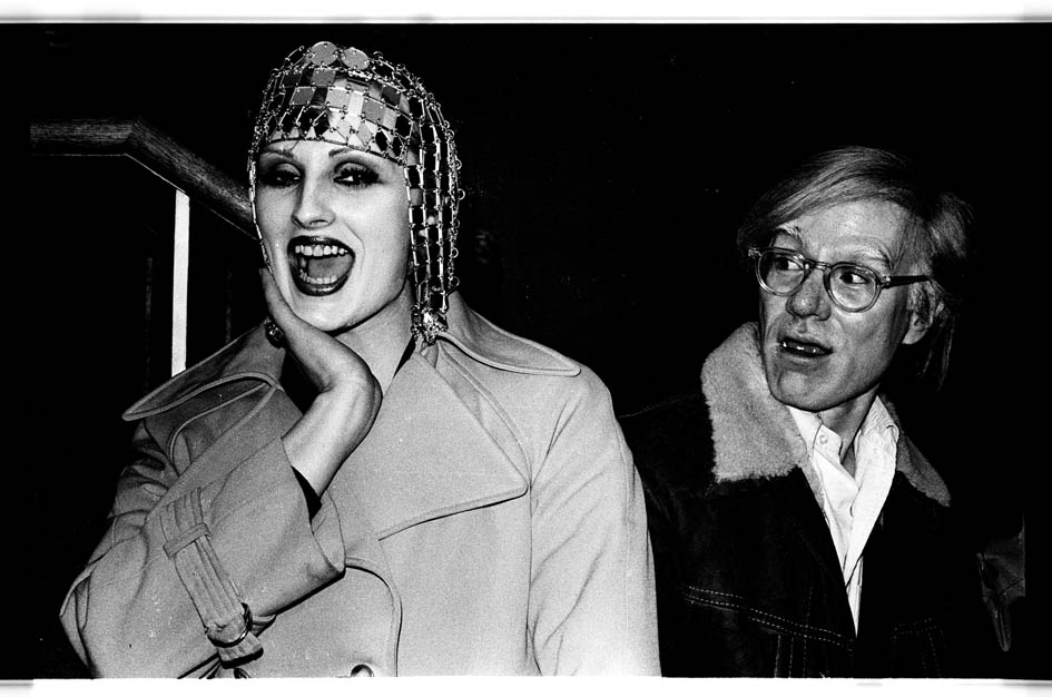 Anton Perich - Candy Darling and Andy Warhol - 1970