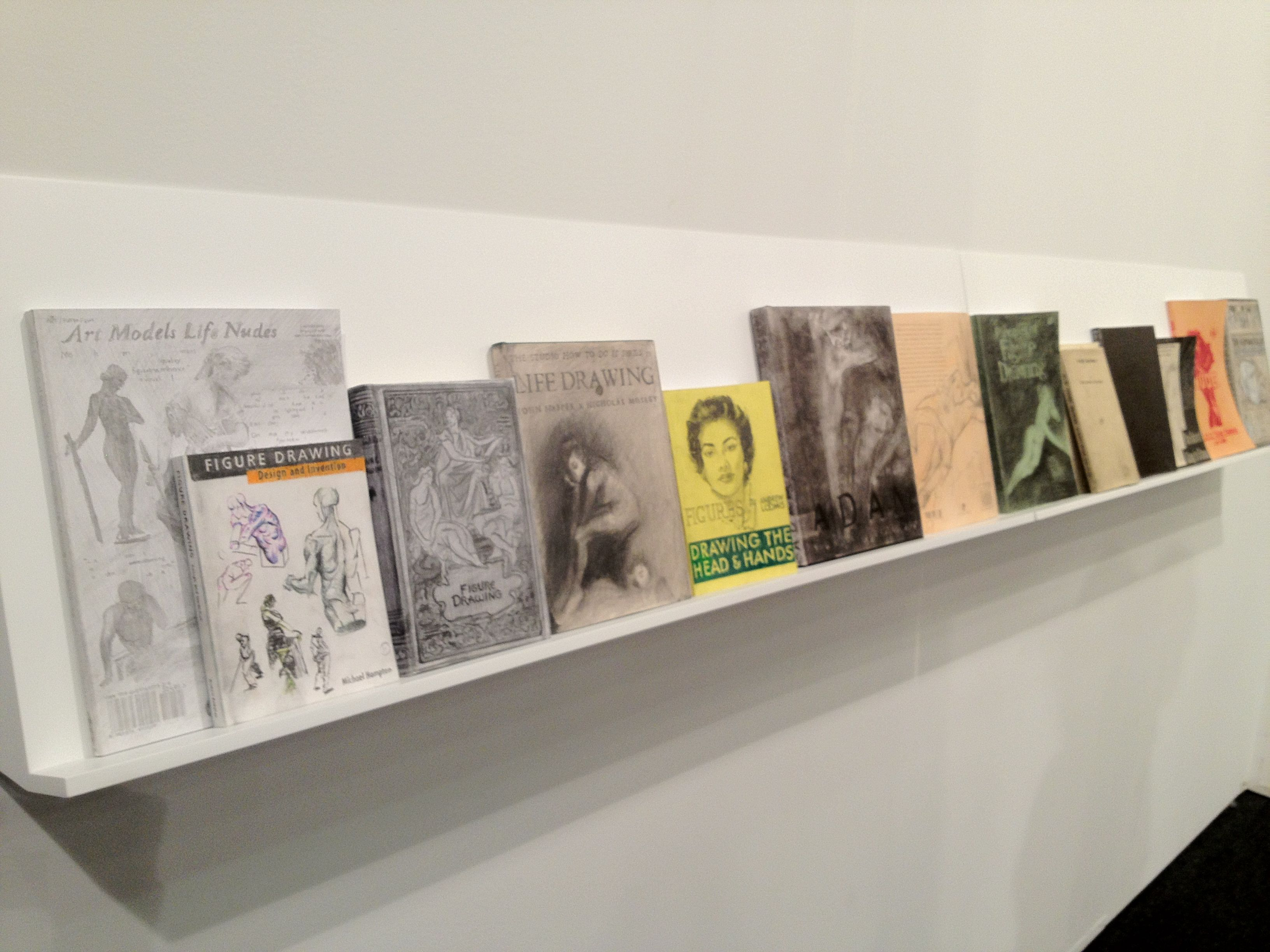 Art Los Angeles Contemporary, Life Drawing Drawings, i libri a mano di Fiona  Banner