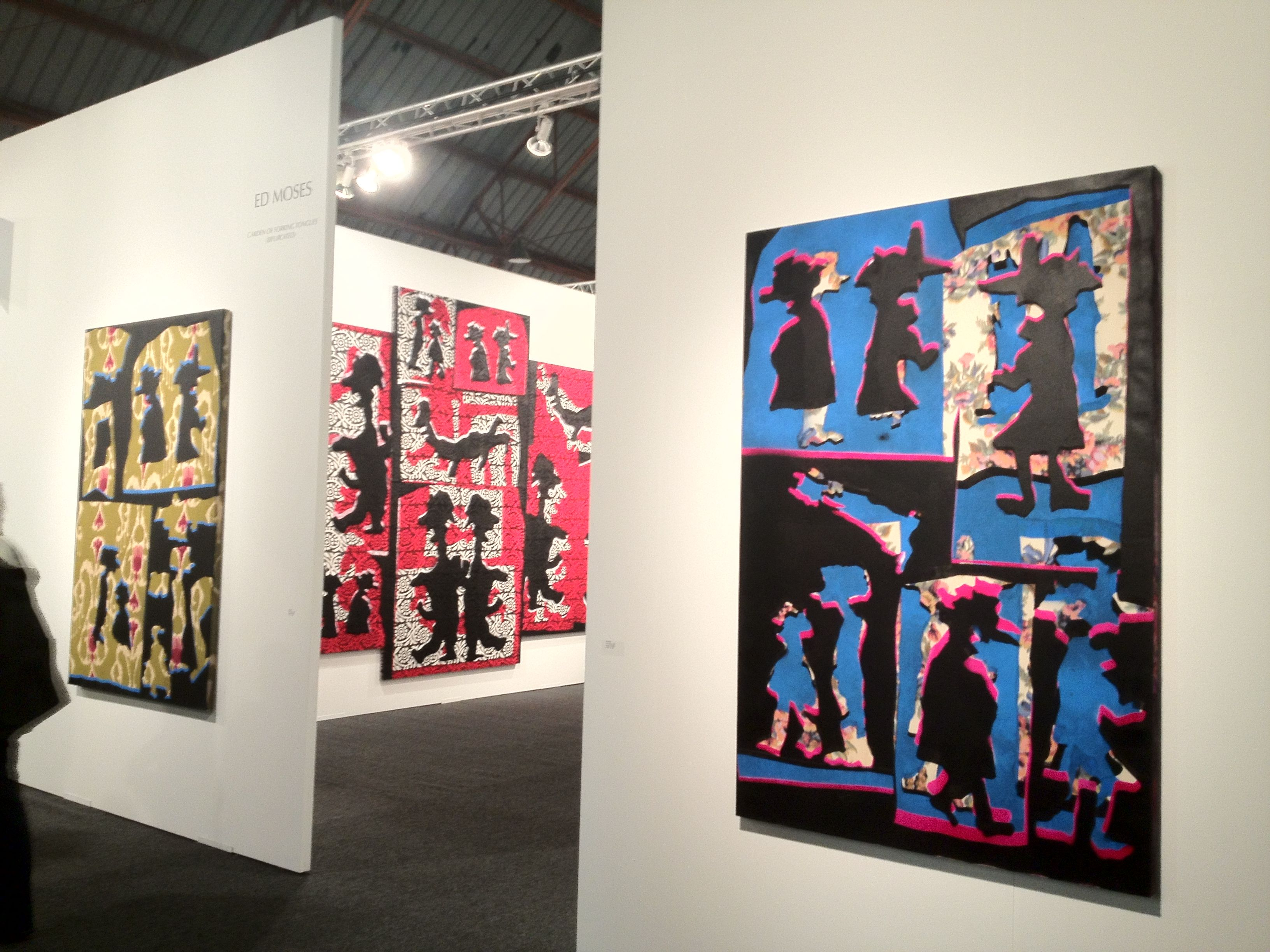 Art Los Angeles Contemporary. Ed Moses alla ACE Gallery