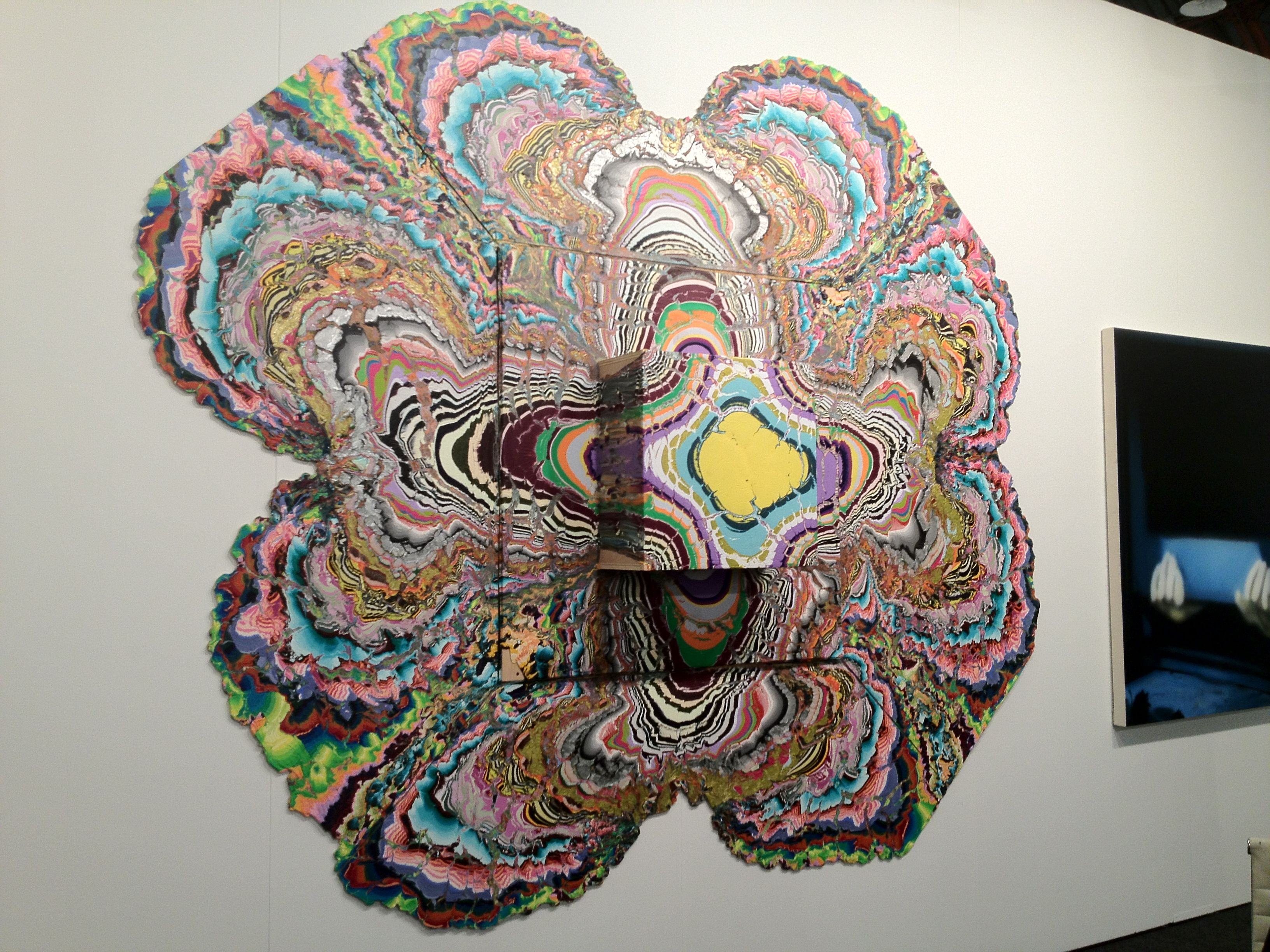 Art Los Angeles Contemporary. Holton Rower alla The Hole Gallery.