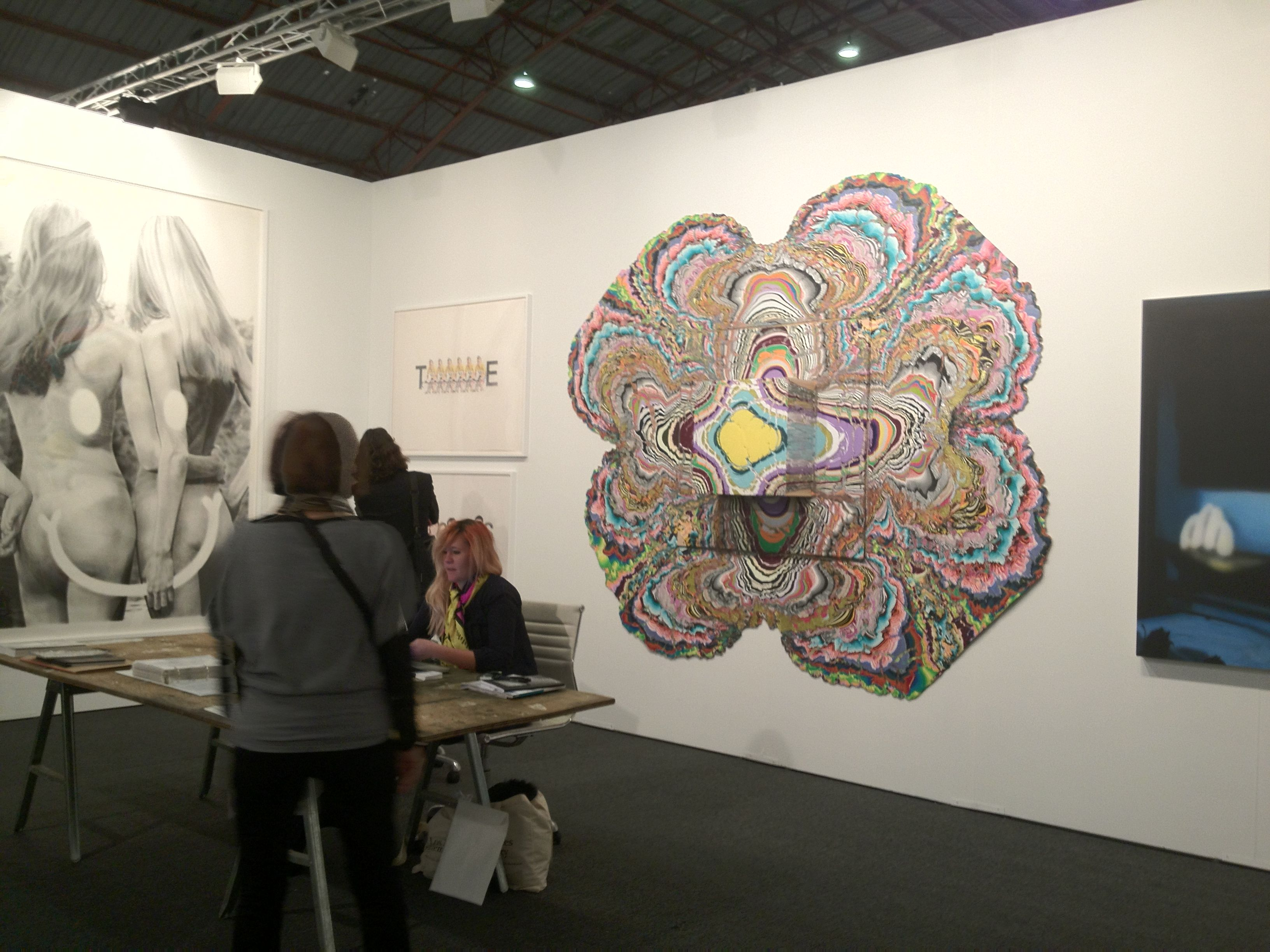 Art Los Angeles Contemporary. Lo stand della The Hole Gallery