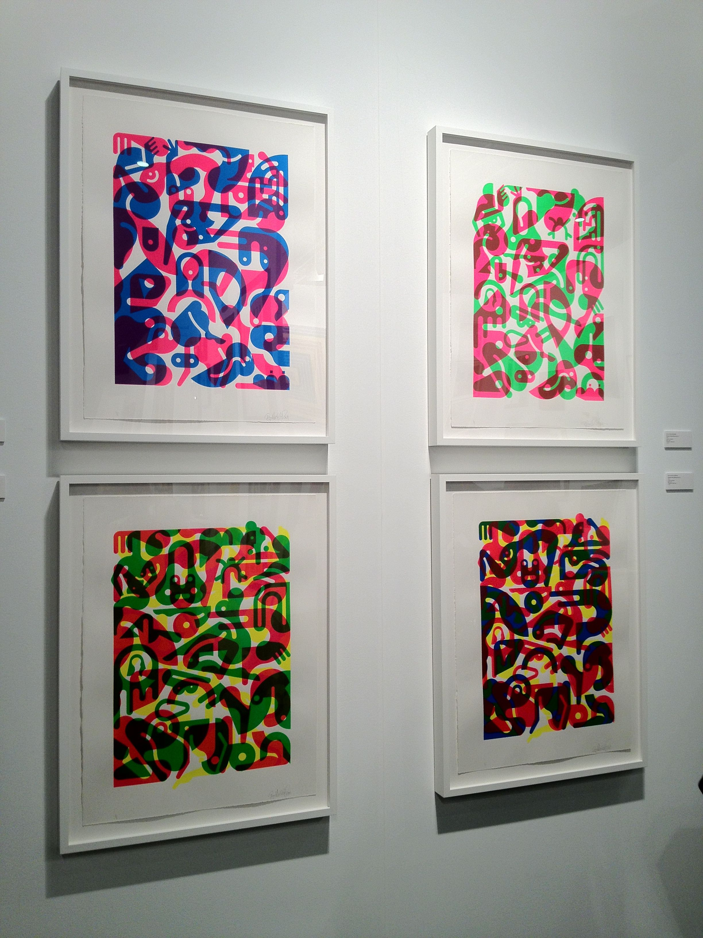 Art Los Angeles Contemporary. Serigrafie uniche di Ryan McGuinness, Quint Contamporary Art Gallery
