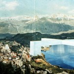 Superstudio – Monumento continuo, Saint Moritz 1969 – fotomontaggio: courtesy Superstudio