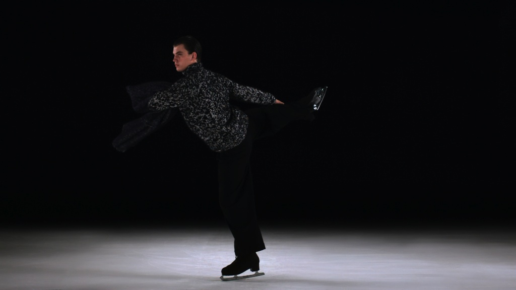 The Catch Knee Camel Spin in Dries Van Noten directed by Lernert  and  Sander for Fantastic Man, courtesy ASVOFF Festival