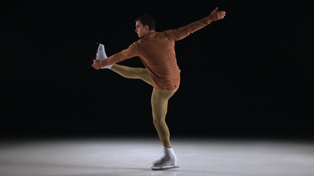 The Upright Catch foot Spin in Prada directed by Lernert and Sander for Fantastic Man, courtesy ASVOFF Festival