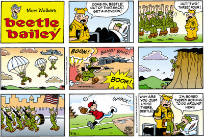 Mort Walker - Beetle Bailey