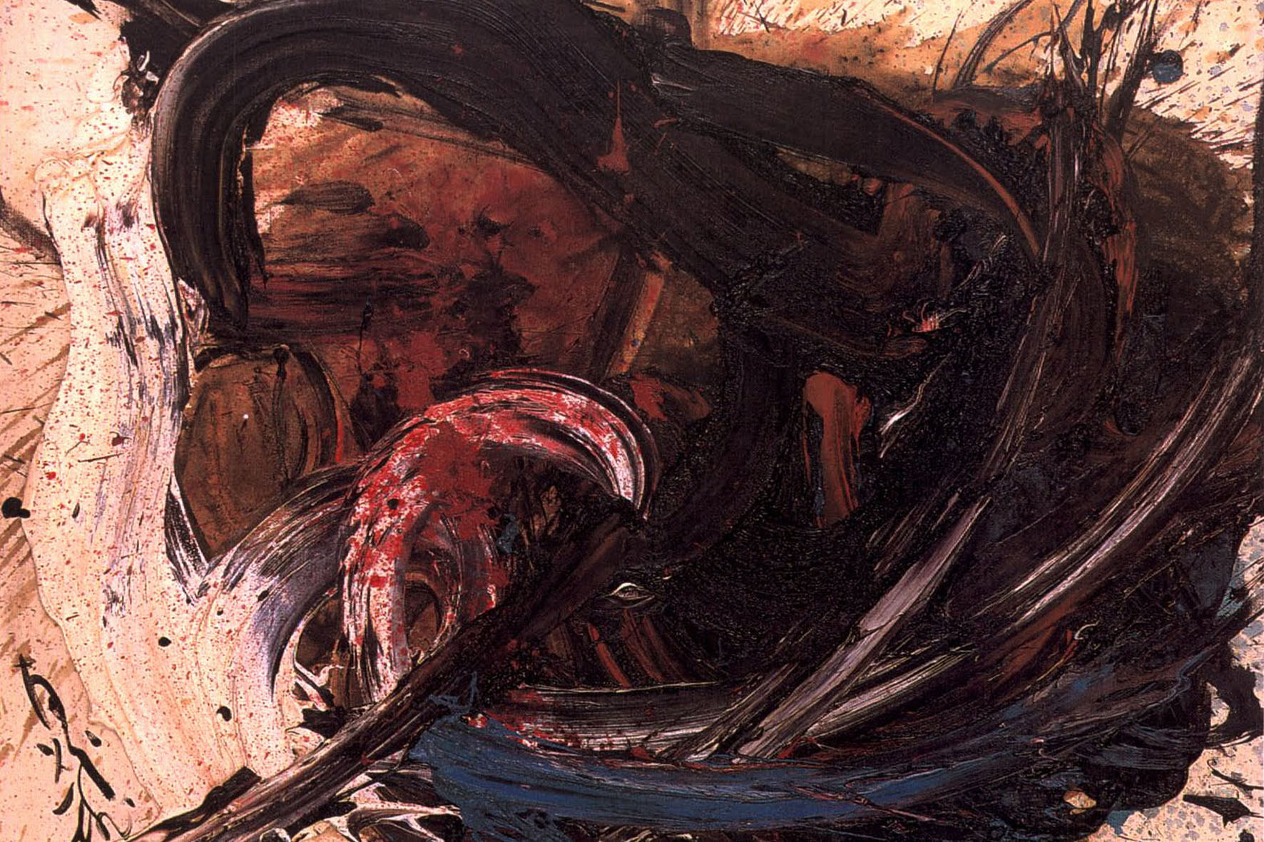 Kazuo Shiraga - Untitled - 1962