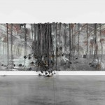 Anselm Kiefer - Dat rosa miel apibus - 2010-11 - courtesy White Cube, Londra - photo Ben Westoby