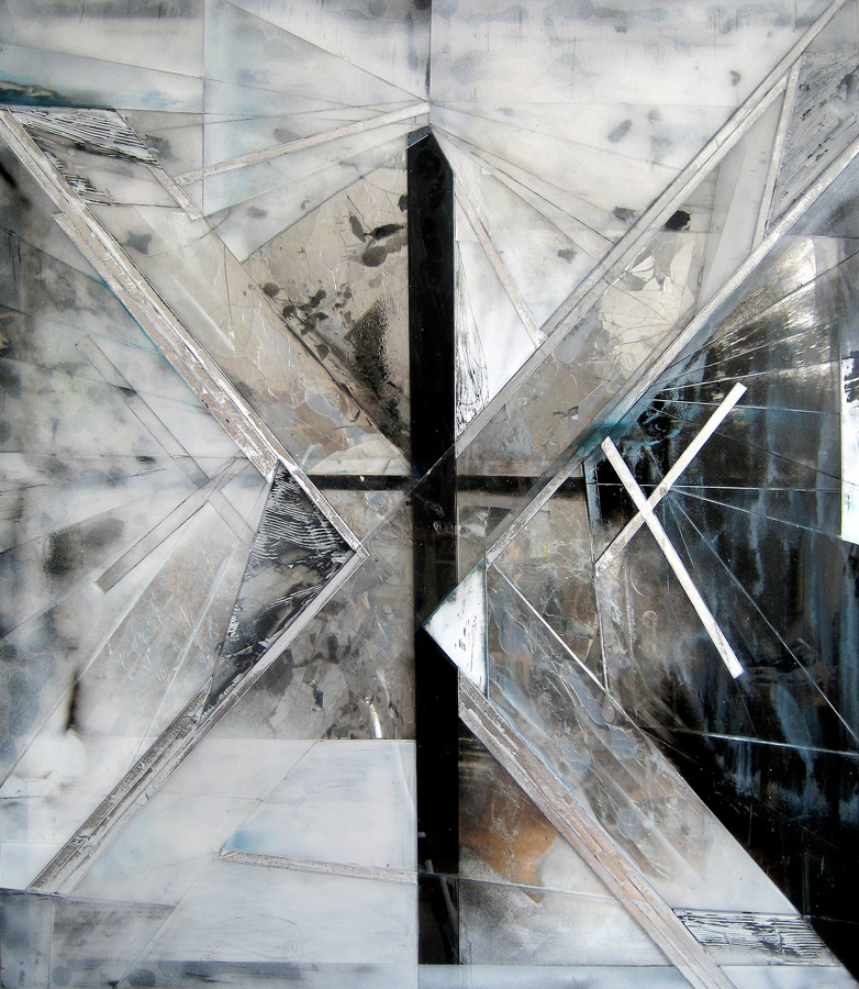 Jason Gringler, Untitled (Tim Hecker - Green), 2011 - Courtesy of the artist and Brand New Gallery, Milano