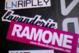 Sticker marketing per Lavanderie Ramone