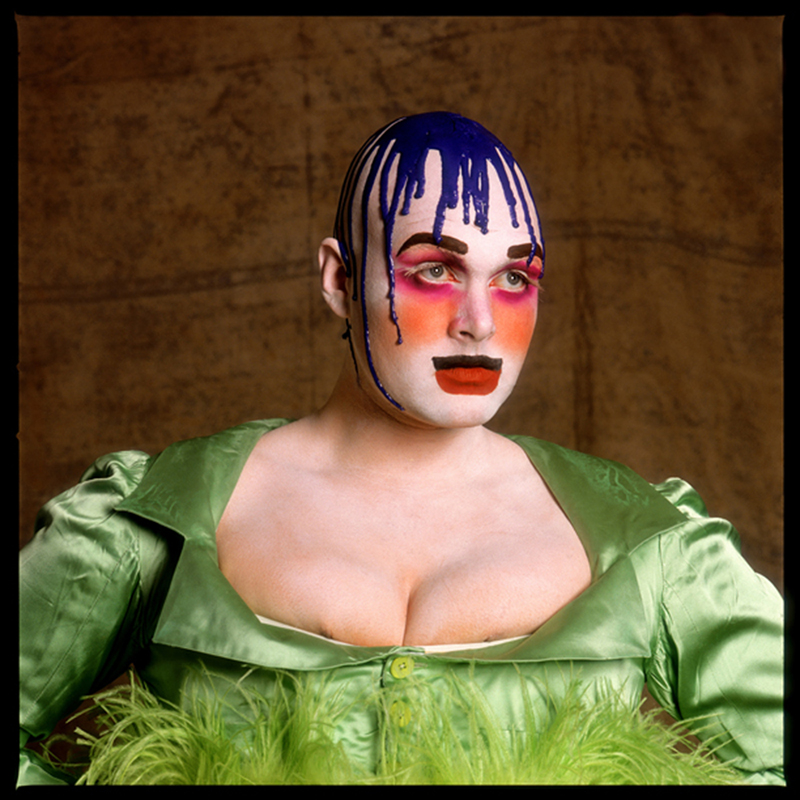 Fergus Greer - Leigh Bowery Session I-Look 2 - novembre 1988