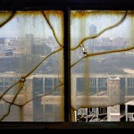 Yves Marchand & Romain Meffre - Window, Packard Motors Plant, Detroit - 2005 - Collection NMNM