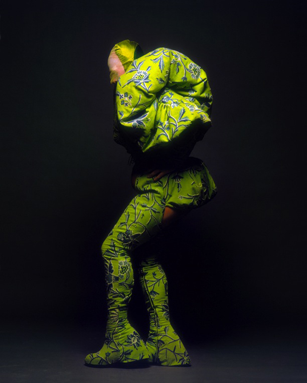 Fergus Greer - Leigh Bowery Session III-Look 11 - agosto 1990