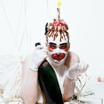 Johnny Rozsa - Leigh Bowery photograped for a series of Christmas Card - 1986