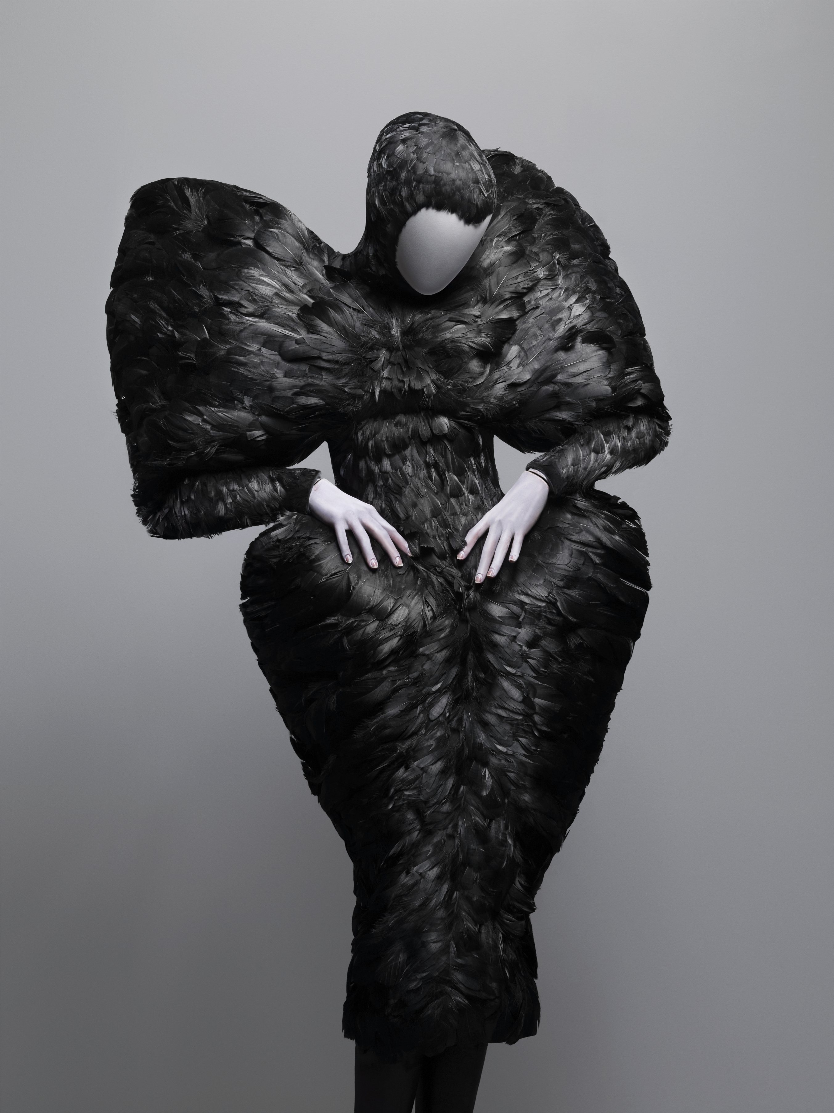 Alexander McQueen - Black Duck Feathers - 2009-10