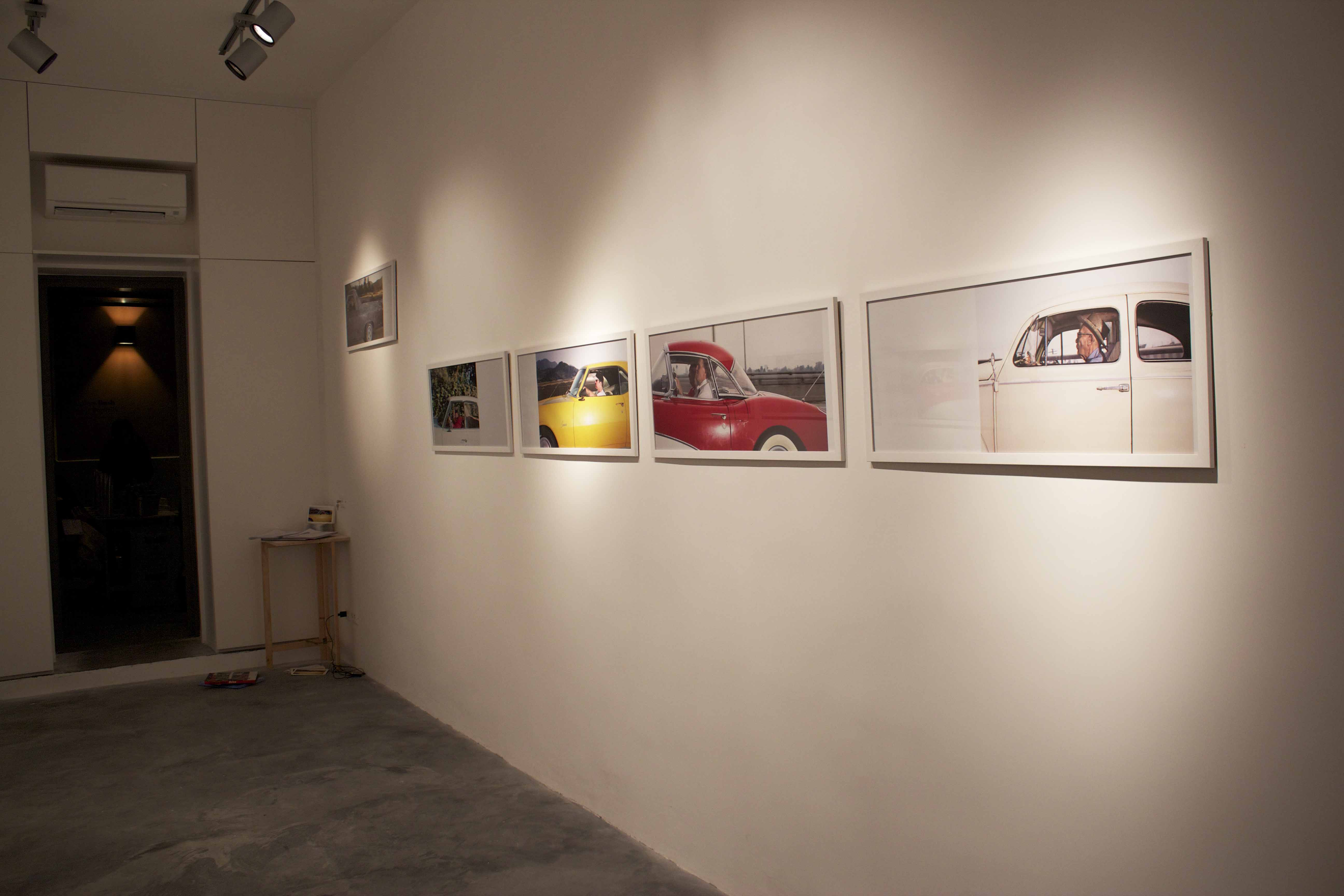 Andrew Bush - Bloo Gallery, Roma 1