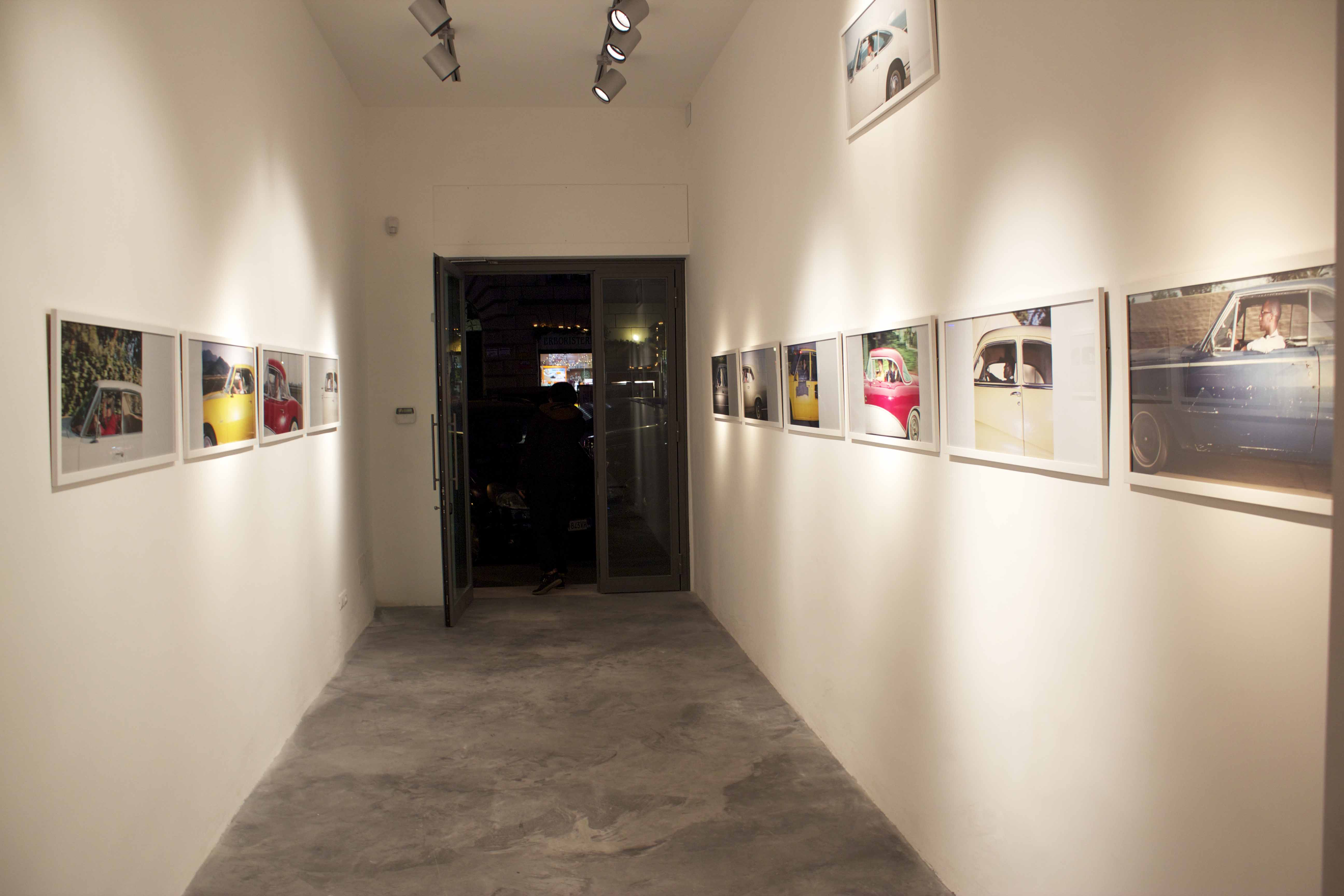 Andrew Bush - Bloo Gallery, Roma 2