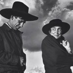 """Ansel Adams, """"Georgia O'Keeffe and Orville Cox, the Canyon de Chelly National Monument"""", 1937"""