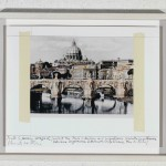 Christo - Ponte S. Angelo wrapped - 1985 - Art Collection HypoVereinsbank - photo Jeanne-Claude Christo