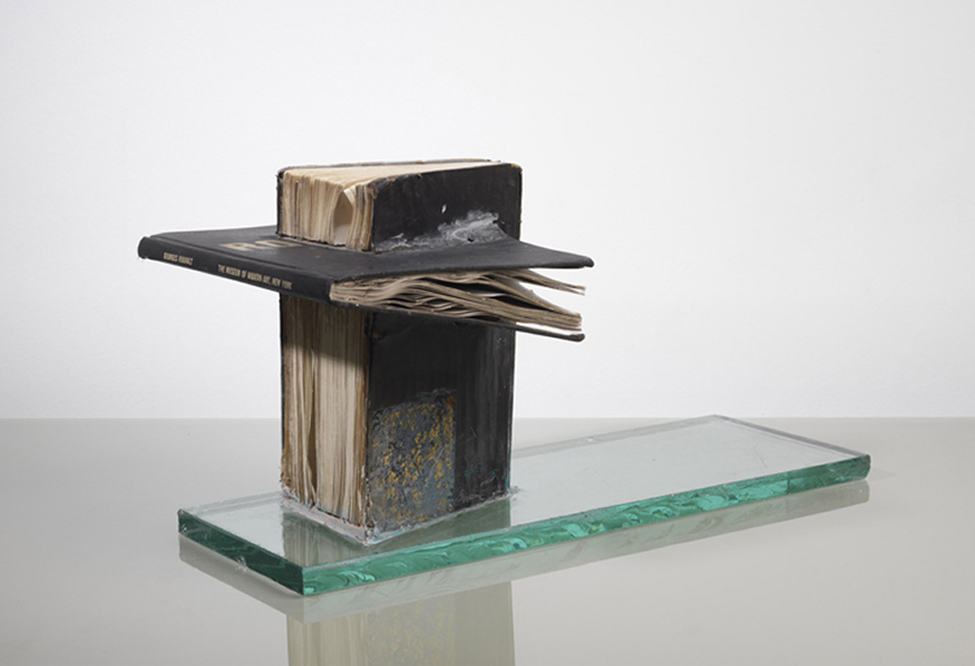 John Latham - Study for a Bing Monument - 1976