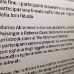 Marina Abramovic. The Abramovic Method 9
