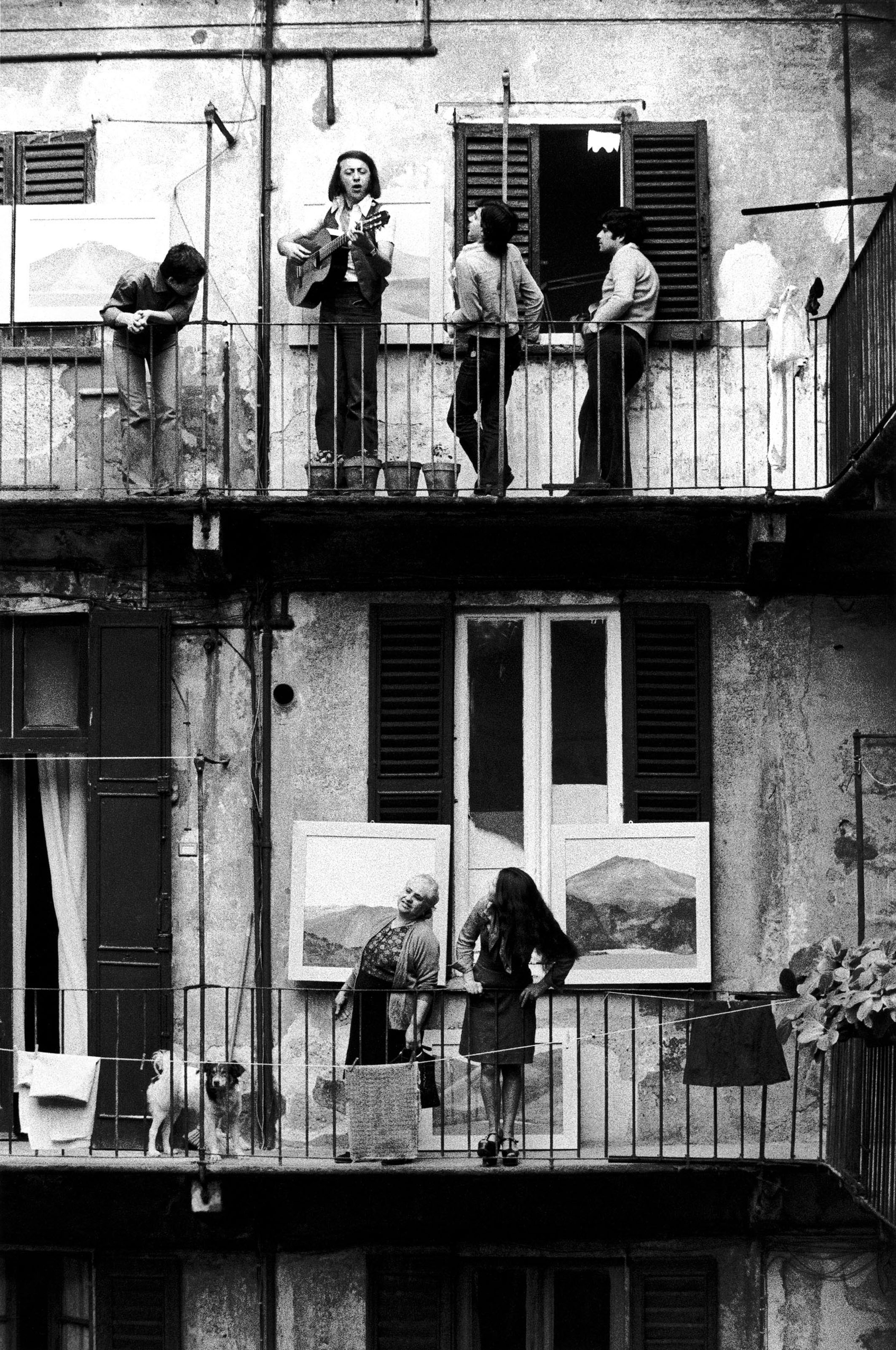 Mostra People and the City - Berengo Gardin