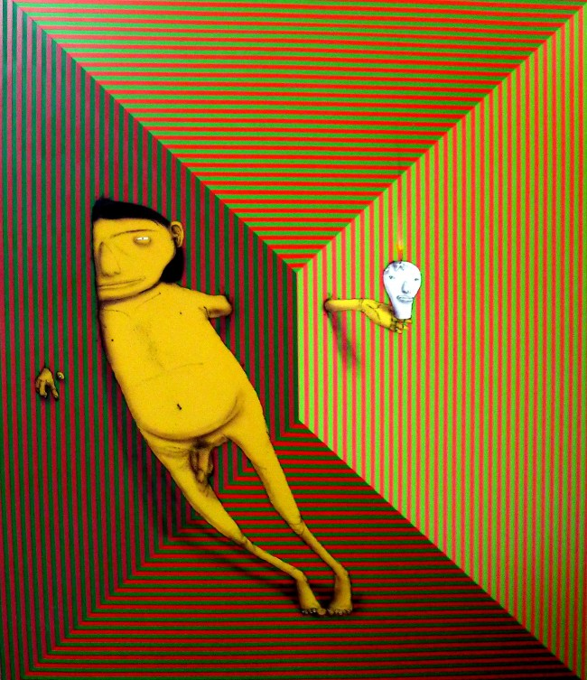 Os Gemeos, Do Outro Lado Da Lua (The Other Side Of The Moon), 2012