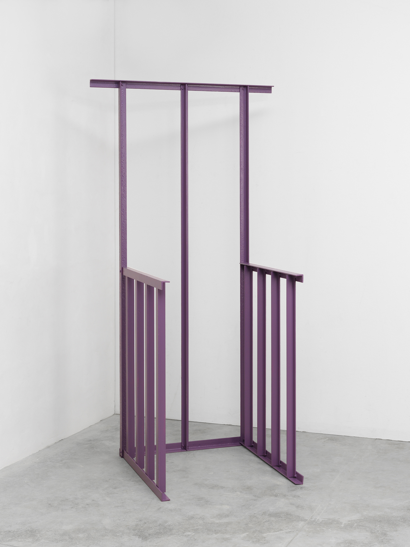 Paolo Icaro - Purple Chair - 1967 - courtesy P420, Bologna