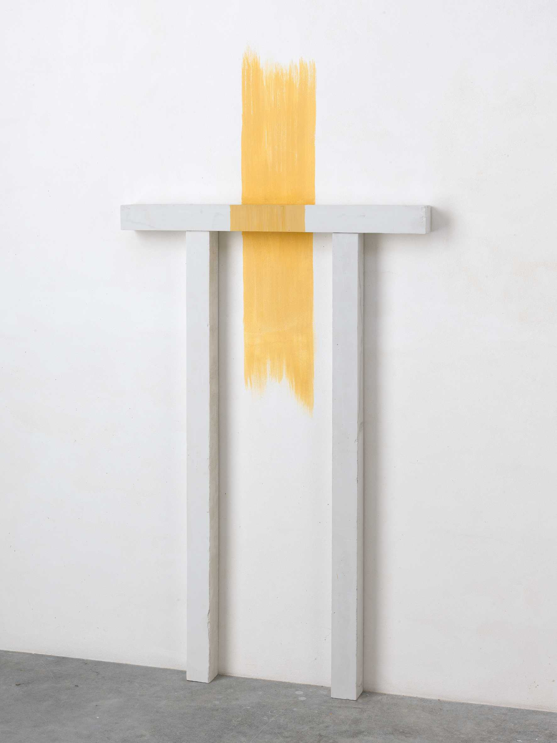 Paolo Icaro - Yellow Site - 1980 - courtesy Studio G7, Bologna
