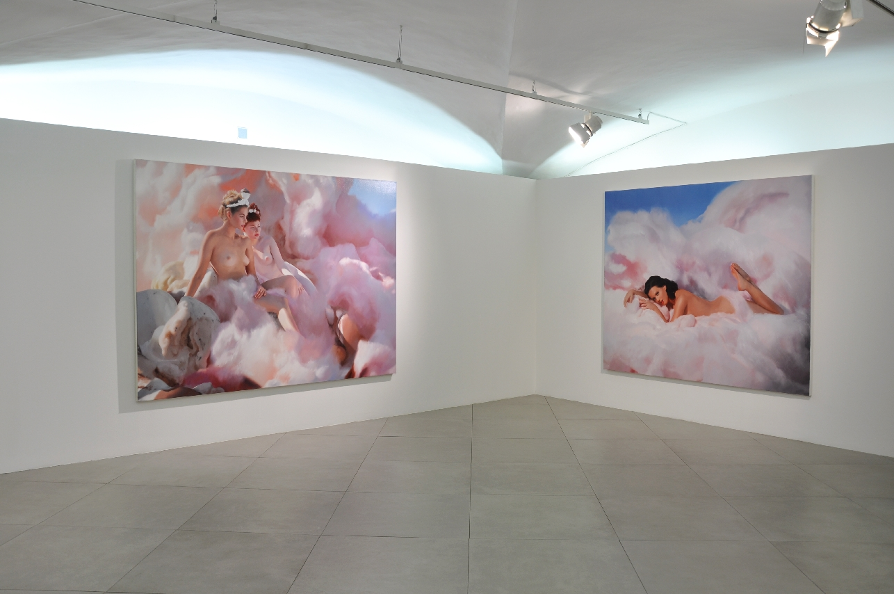 Will Cotton Candy Katy, 2010 - Courtesy Direct Management Group, Los Angeles - Courtesy l'artista e Mary Boone Gallery, New York (foto Martino Margheri)