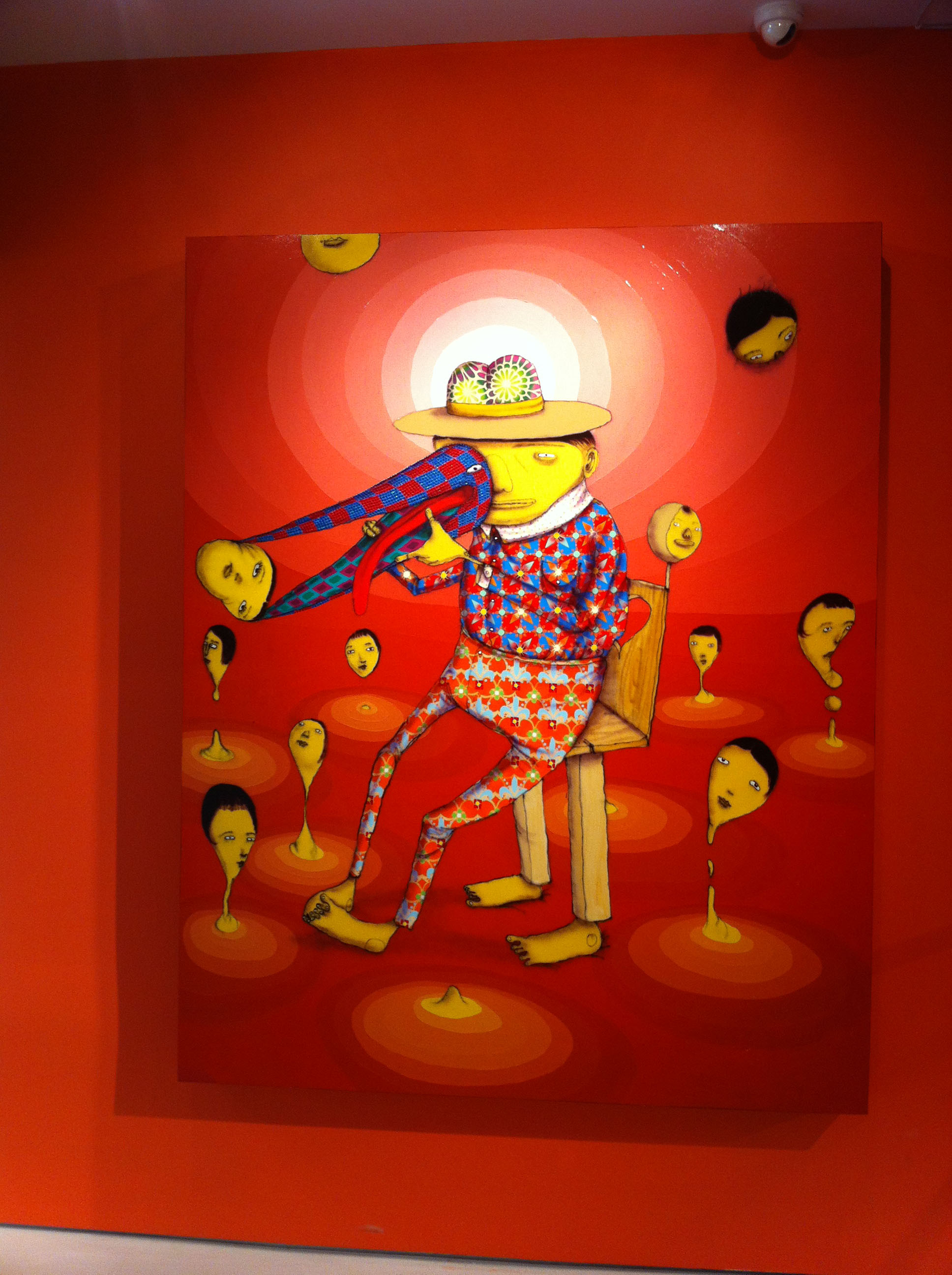 Os Gemeos, Miss You, 2011 - Prism Gallery, Los Angeles