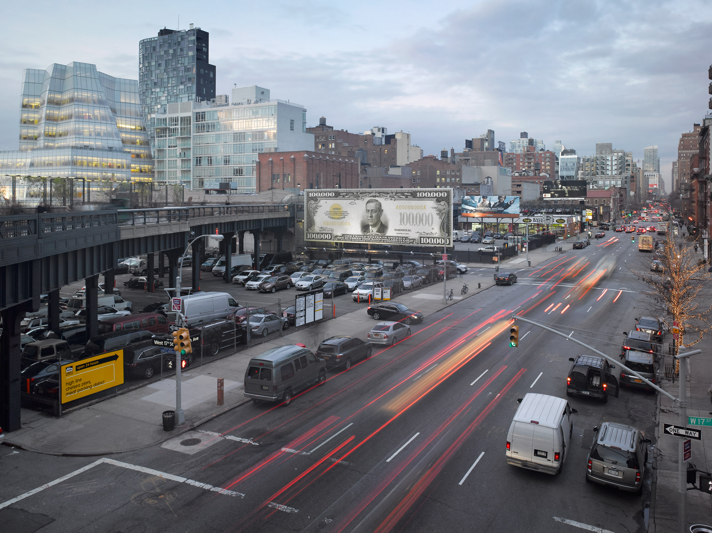 High Line - courtesy John Baldessari & Marian Goodman Gallery & Friends of the High Line - photo Austin Kennedy