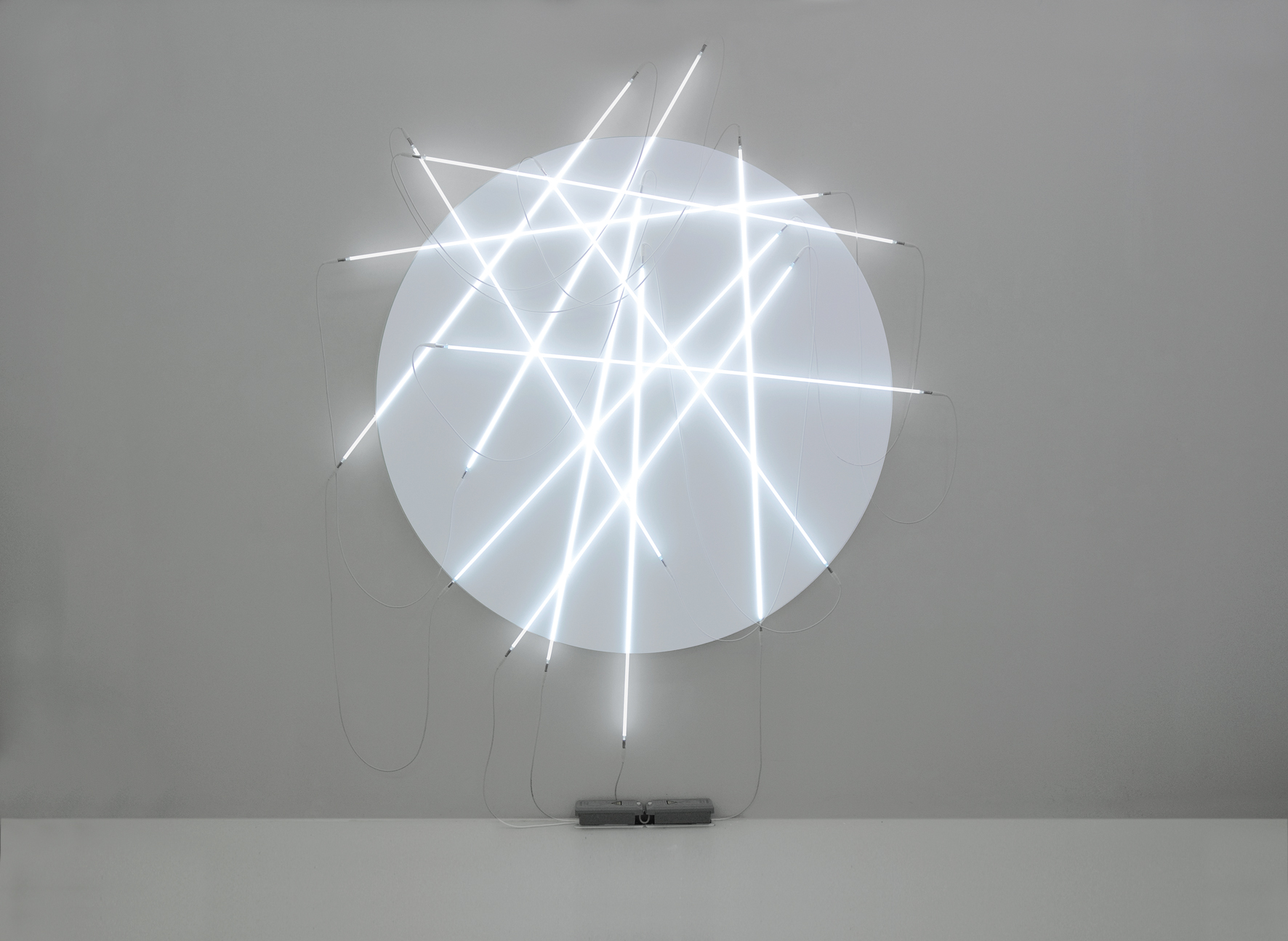 François Morellet - Lunatic weeping and neonly n° 3 - 2010 - courtesy A arte Studio Invernizzi, Milano