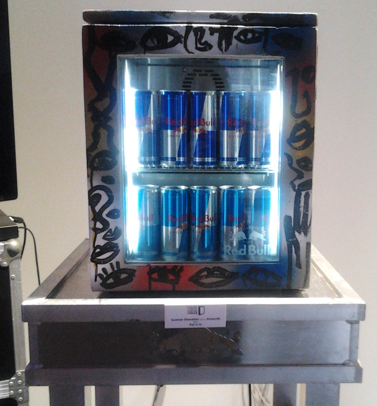 Red Bull Curates Canvas Cooler