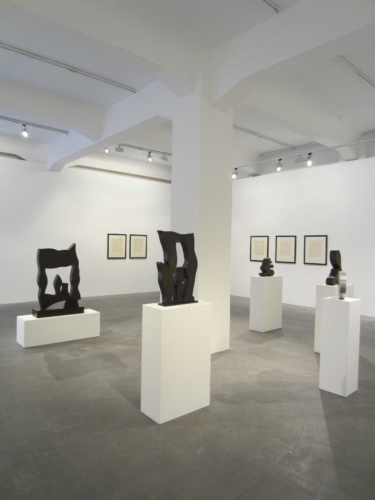 Berlin Gallery Weekend 2012 - warhol, arp  e missika @ crone
