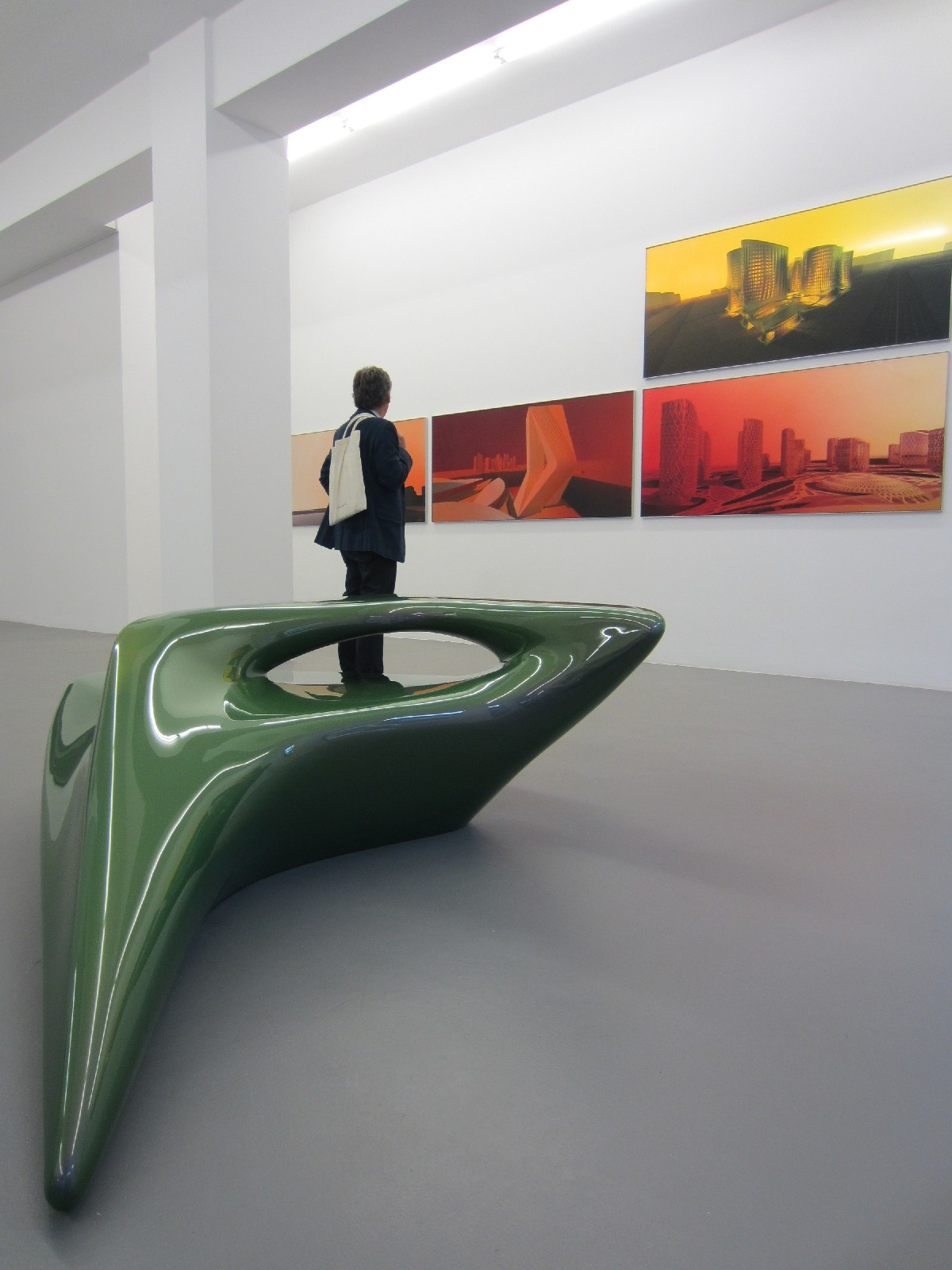 Berlin Gallery Weekend 2012 - zaha adid @ buchmann