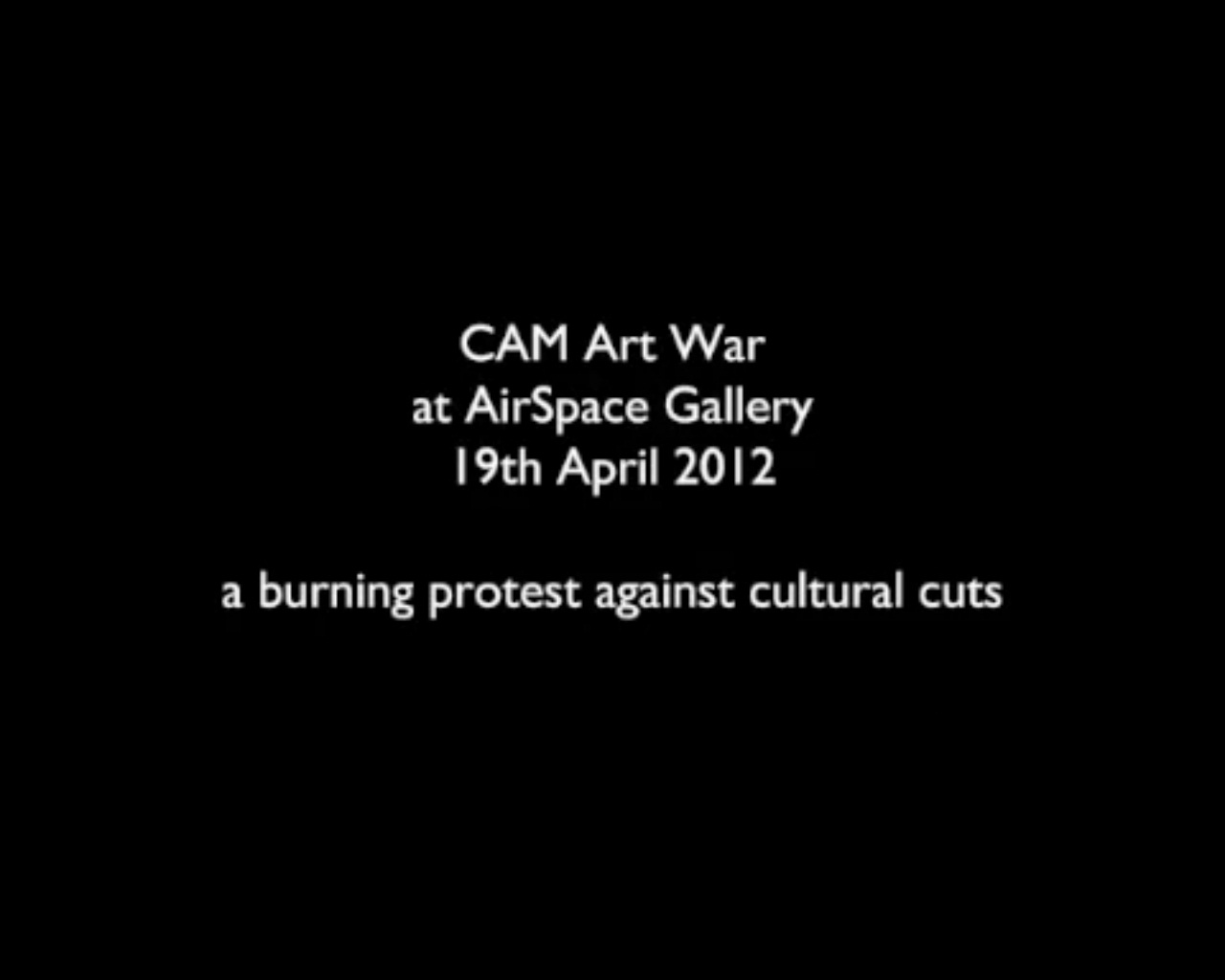 CAM Art War UK 1