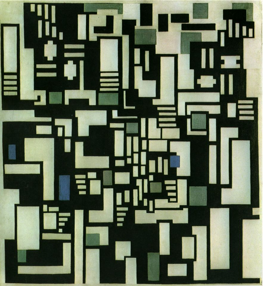 Theo van Doesburg, Composition IX, opus 18, 1917