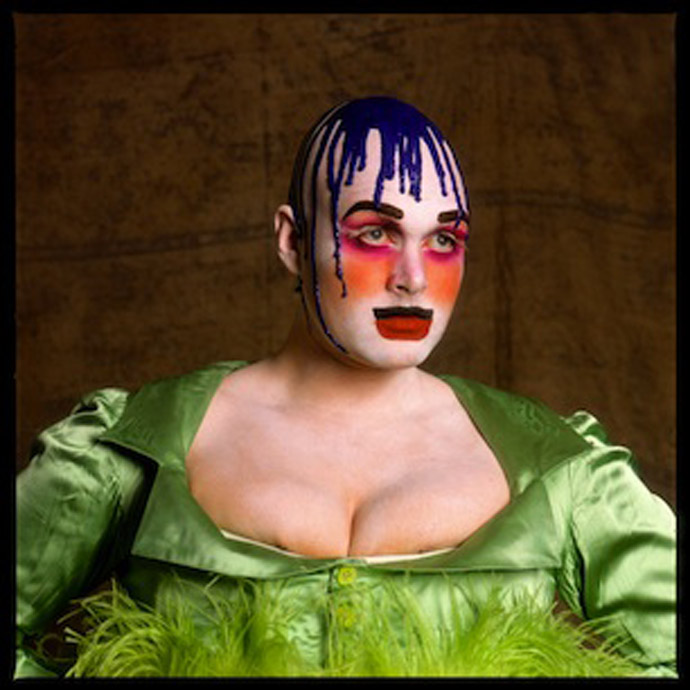 Fergus Greer - Session I, Look 2 (serie Leigh Bowery Looks) - 1988