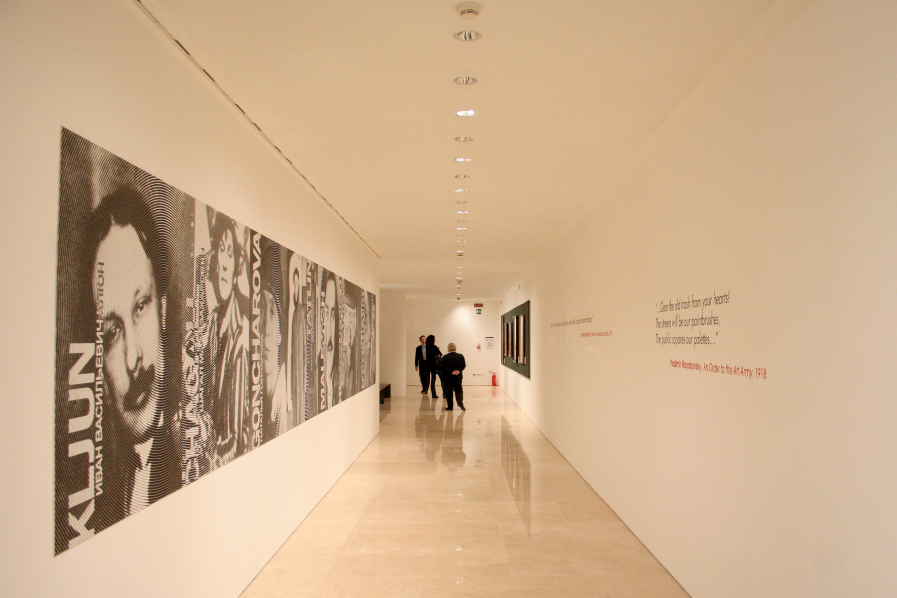 Nuovo allestimento Museo dell'Ara Pacis – Mostra Avanguardie russe (foto Luca Labanca) 9