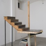 Oscar Tuazon/Elias Hansen - Untitled (Kodiak Staircase) - 2008 - photo Giorgio Benni - courtesy Collezione Giuliani, Roma