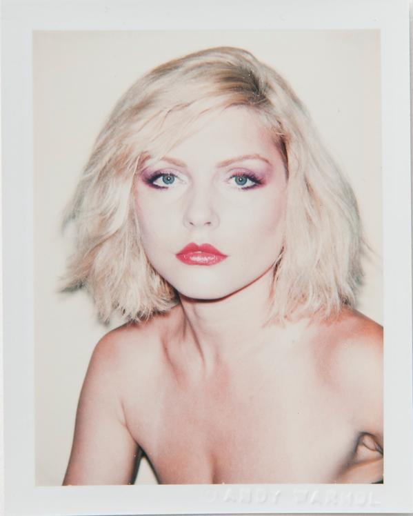 Andy Warhol - Debbie Harry - 1980 - courtesy The Andy Warhol Foundation for the Visual Arts, Inc. & Danziger Gallery
