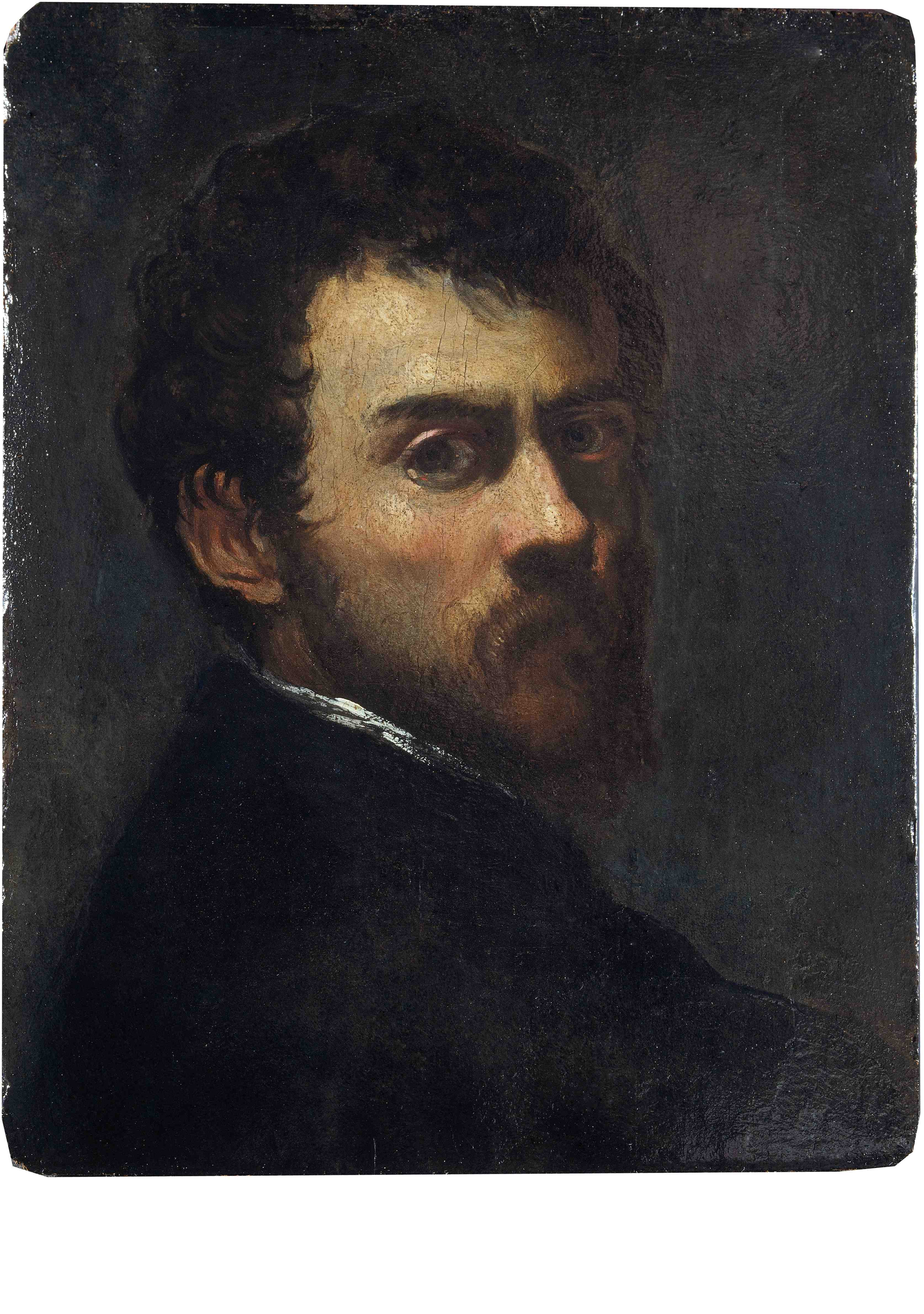 Tintoretto - Autoritratto come giovane uomo - 1548 - Victoria and Albert Museum. Bequeathed by Constantine Alexander Ionides