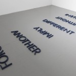 Robert Barry - Cobalt Blue Word List - 2012