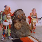 Spartacus Chetwynd, Jabba The Hutt Reads Rabelaise, 2008